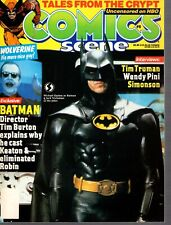 Comics Scene Magazine #8 Michael Keaton+Batman Cover Awesome Condition