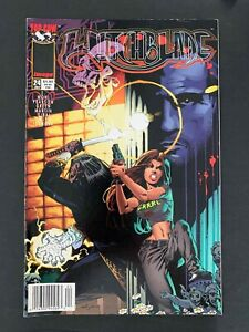 WITCHBLADE #24B  IMAGE COMICS 1998 VF+ NEWSSTAND PEARSON VARIANT COVER