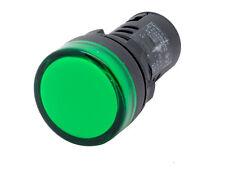 L22 Ati Green Led Pilot Panel Indicator Light 22mm 12v Dc