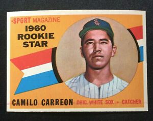 1960 Topps #121, Camilo Carreon Excellent-Near Mint