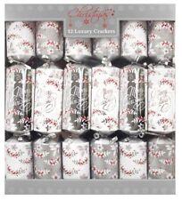 "Tom Smith Noël Crackers 6 x 12/"" mélangé métallisé Crackers"