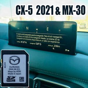 Tarjeta SD PRECINTADA - Mazda CX5 2021 Europa + RADARES de VELOCIDAD