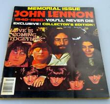 Collector's Edition John Lennon: You'll Never Die Magazine