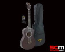 LKPPB Kohala Baritone Ukulele Pack Strung Aquila Strings Padded Uke Bag + Tuner