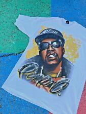 VTG Early 2000s Pimp C Houston Texas UGK Rap Tee Gold Graphic Hip Hop XXXXL 4XL