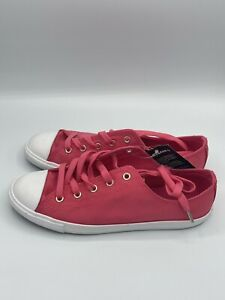 CONVERSE Women Strawberry Red pink CTAS DAINTY OX Chuck Taylor All Star Size 8.5