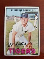 1967 Topps Al Kaline #30 EX+, GOOD CENTERING HOF DETROIT TIGERS
