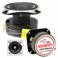 "Audiopipe ATR-3231 3"" Heavy Duty Titanium Super Tweeter 350 Watts Each Single"