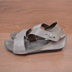 Trippen Womens Sandals Shoes Leather sz 40