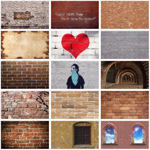 Multitype Retro Brick Wall Background Cloth Photography Backdrop Prints Decor