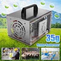 220V 35000mg/h Ozone Generator Machine Air Purifier Odor Cleaner Deodorizer U