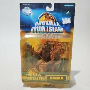 "1997 Trendmasters rare Godzilla Doom Island ""VARAN"" Kaiju action figure"