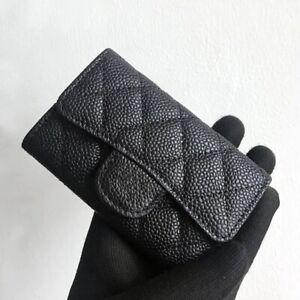 2021 New Luxury Classical Women wallets Sheepskin Genuine Leather Card Holder