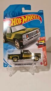 NEW Hot Wheels 1978 Dodge Lil Red Express Truck Treasure Hunt 2021 No 212 GTC95