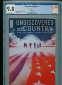 Undiscovered Country #1 CGC 9.8 NM/MT (SNYDER & SOULE) JOCK variant Cover L@@K!