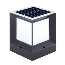 Cubic Solar Pillar Lights