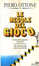 Mu41 Le regole del gioco Piero Ottone Oscar Mondadori I ed 1986