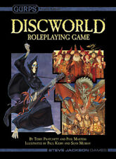 Gurps: Disc World RPG 2nd Edition (stand alone) SJG 01-2500