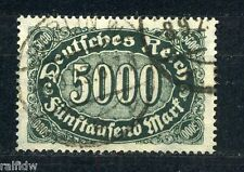 DT. Reich 5000 M. trasversale offset Nero Verde Michel 256 D esaminati (s2666)