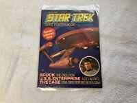 STAR TREK GIANT POSTER BOOK - VOYAGE ONE 1976 VINTAGE MAGAZINE