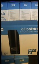 WD EasyStore 10TB External USB 3.0 Hard Drive - Black, (WDBCKA0100HBK-NESN)