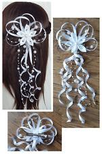 LadyMYP© Haarkranz//Kopfschmuck //Haarbänder mit vielen Blüten /& Perlen Kommunion