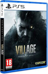 RESIDENT EVIL 8 VILLAGE VIII PS5 VIDEOGIOCO ITALIANO PLAY STATION 5