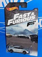 Hot Wheels 2018 Wal-Mart Fast & Furious Series #5 2009 Nissan GT-R Silver