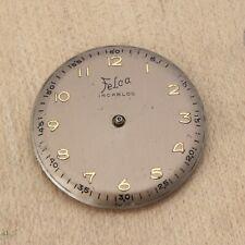 Vintage Felca 1080 Wach Movement Good Balance Parts Repairs Watchmakers Estate