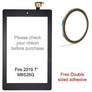 """Amazon Kindle Fire 7 2019 7"""" M8S26G Touch Glass Screen Digitizer Replacement"""