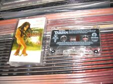PHIL COLLINS MARK MANCINA TARZAN USA CASSETTE ORIGINAL WALT DISNEY RECORDS