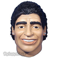 DIEGO MARADONA MASK MASCHERA ARGENTINA LATEX COSTUME COSPLAY ONE SIZE