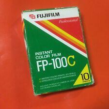 Fujifilm FP-100C Instant Color Polaroid Film Expired 2003 10 Count
