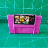 Super 120 in 1 for Nintendo SNES Multi Cart Game Cartridge Battery Save NTSC-U/C
