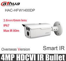 "Dahua HAC-HFW1400D 4MP HDCVI Bullet Camera Smart IR80m IP67 1/3"" CMOS"
