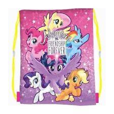 Hasbro My Little Pony Pink Girls Kids Draw String PE Swim School Sport Gym Bag