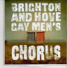 (CG346) Brighton & Hove Gay Men's Chorus, Somewhere For Me - DJ CD