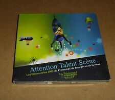 ATTENTION TALENT SCENE / PRINTEMPS DE BOURGES 2005 (CD) RARE (NEUF SOUS BLISTER)