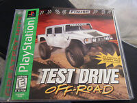 Test Drive Off Road - PS1 PS2 Complete Playstation Game