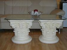 Barocktisch Steintisch Glastisch Couchtisch Wohnzimmertisch Antikertisch Römer