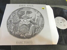 "Dave Ball Soft Cell Rare Tempo 12"" EP throbbing gristle psychic tv goth synth !!"