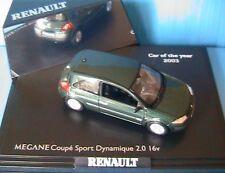 RENAULT MEGANE COUPE SPORT DYNAMIQUE 2.0 16V GIVERNY 1/43 NOREV LHD LEFT HAND