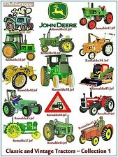 "AUSTRALIAN SITE: "" Classic & Vintage Tractors 1 "" - 15 Designs on a CD"