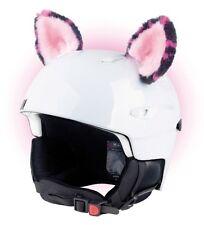 Katzenohren Helmohren für Helm Ohren Helmet Ears Skihelm Katzen Katze Pink Rosa