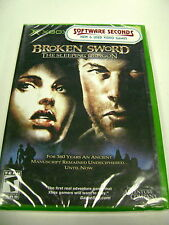 Broken Sword: The Sleeping Dragon (Xbox) BRAND NEW FACTORY SEALED