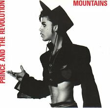 "PRINCE  Mountains  PICTURE SLEEVE 7"" 45 rpm record + juke box title strip NEW"