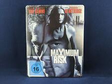 MAXIMUM RISK Steelbook Bluray Jean Claude Van Damme Natasha Henstridge Ringo Lam