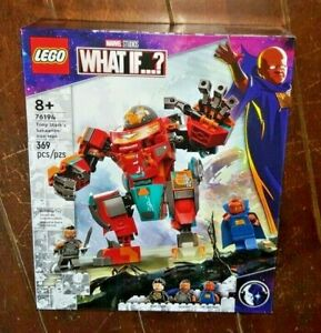 Lego Marvel What If..? 369pc TONY STARK'S SAKAARIAN IRON MAN Building Toy #76194
