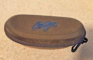 MAUI JIM Sunglasses Hard Case - Zipper Case with Hanging Clip