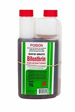 Bifenthrin 1L David Grays Termite Insect Ant Spider Pest Control Spray 100g/L